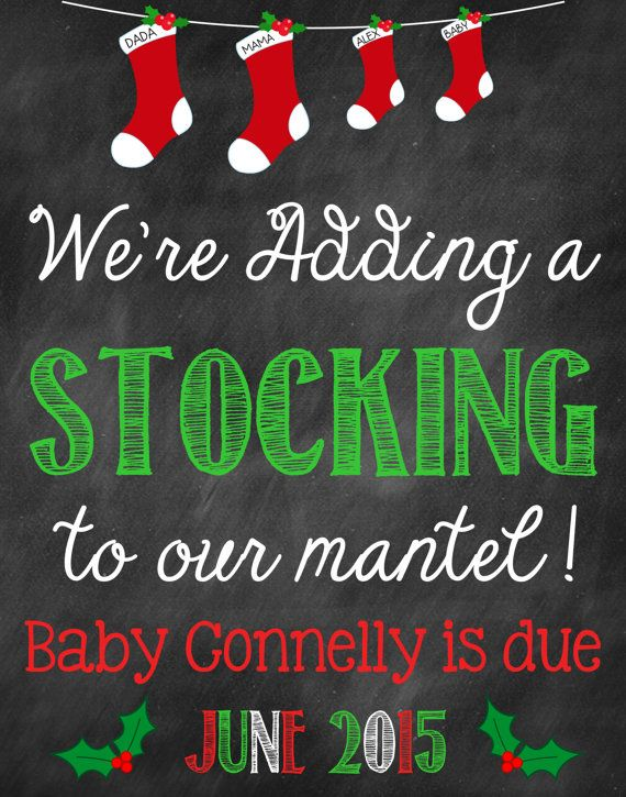 1000+ Ideas About Christmas Pregnancy Announcements On Pinterest Pregnancy .