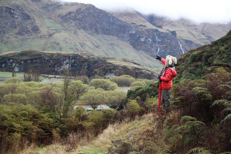 Mum-and-Milo adventure with a daring via ferrata waterfall climb, lakeside hikes, horse riding, bike riding and the Shotover Jet - Wanaka, New Zealand