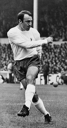 Jimmy Greaves - Chelsea, AC Milan, Tottenham Hotspur, West Ham United, Brentwood, Chelmsford City, Barnet, Woodford Town, England.