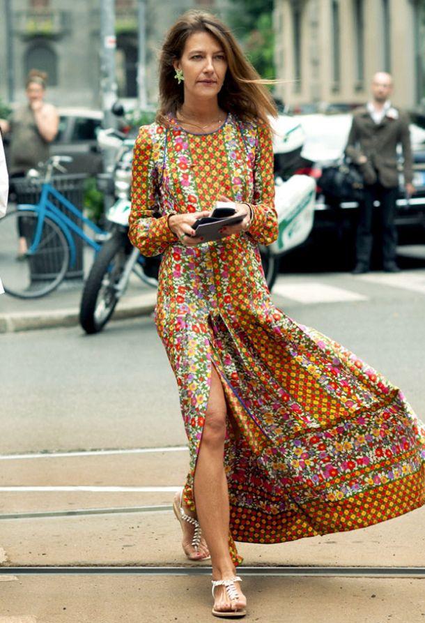street-style-maxi-dress-long-sleeves