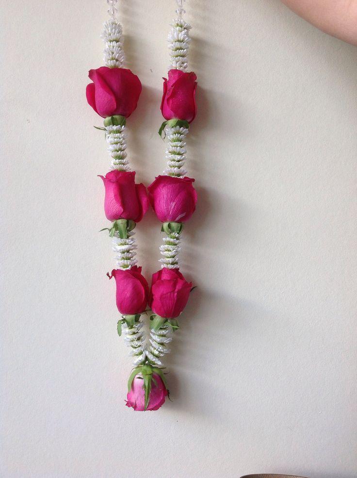 My creation Hindu wedding garland