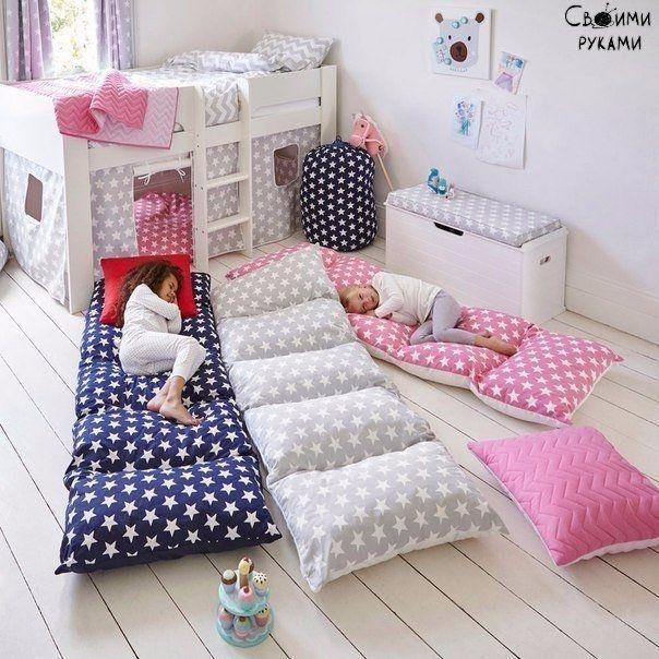 Создаём свой уютный уголок из подушек