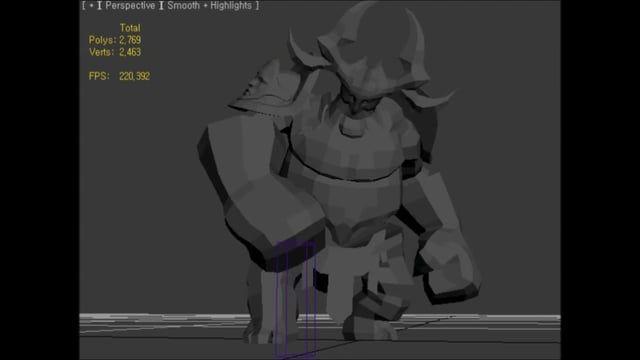 game animation Portfolio 2015