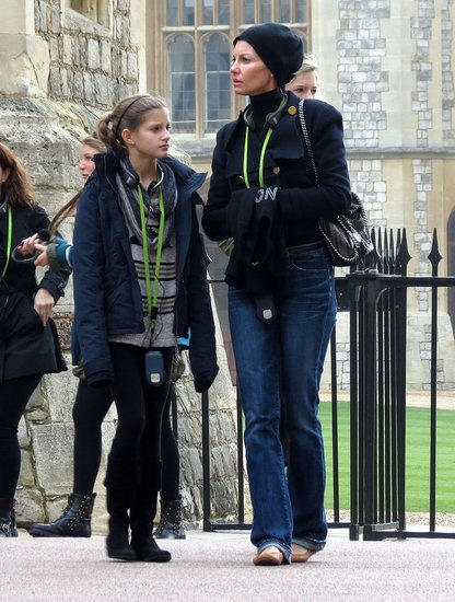 Faith Hill toured the Windsor Castle in London with her family | Get the vacation photos
