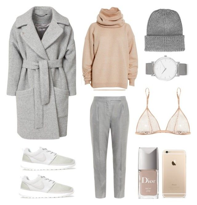 This is Normcore by fashionlandscape on Polyvore featuring Mode, Acne Studios, Helmut Lang, FWSS, MaxMara, Kiki de Montparnasse, Larsson & Jennings, Topshop and NIKE