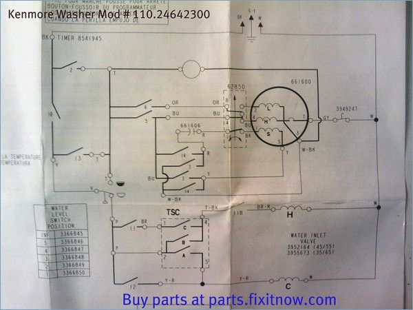 Bosch Washing Machine Motor Wiring Diagram
