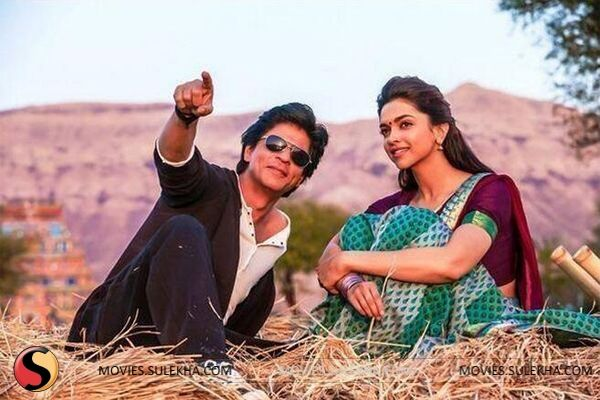 SRK & Deepika Padukone (Chennai Express)