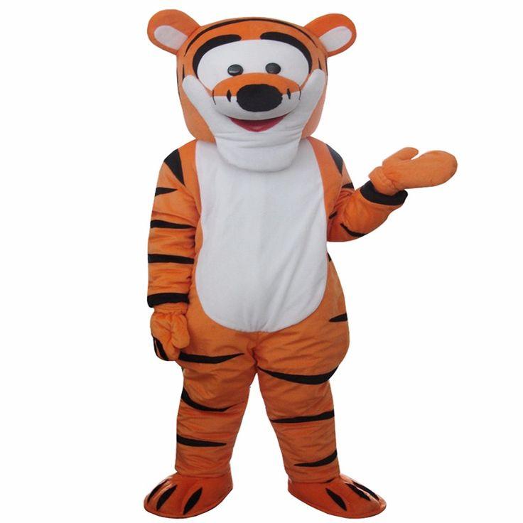 High quality Tigger Mascot Costume Cartoon Mascot Costume Character Costume Free Shipping