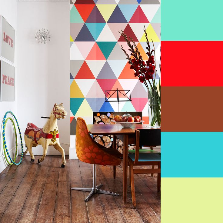 Don't think I'm crazy, but I LOVE THIS WALL!  (Styling by Ashlyn Gibson for Creative Family Home)