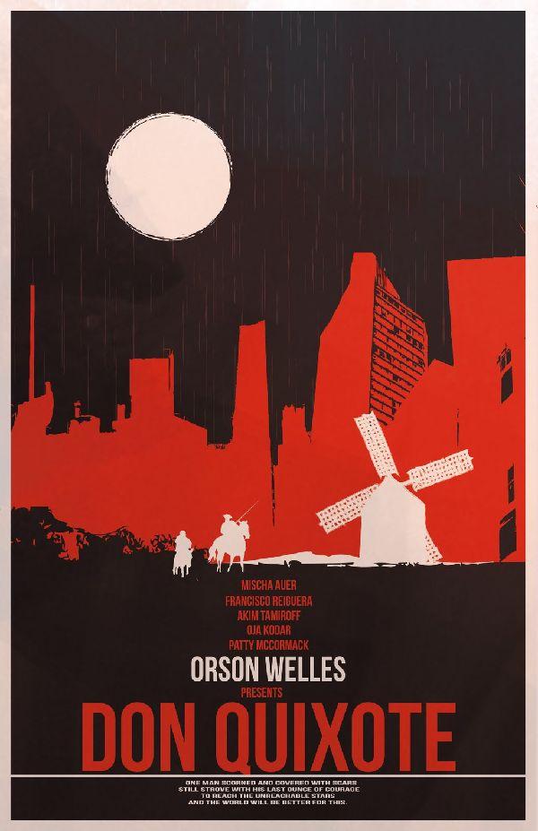 Fernando Reza, Don Quixote Poster, Digital Art.