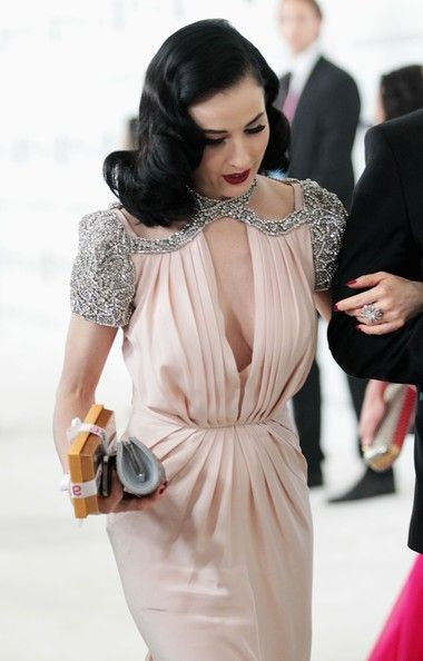 Dita Von Teese - The Annual Elton John Oscar Viewing Party.