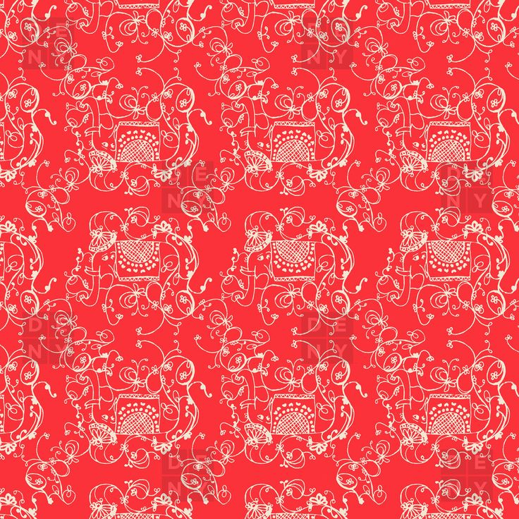 Joy Laforme Far Far Away Elephants II In Coral Red Duvet Cover | DENY Designs Home Accessories
