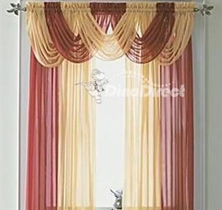 Red And Gold Curtains Living Room In 2019 Pinterest