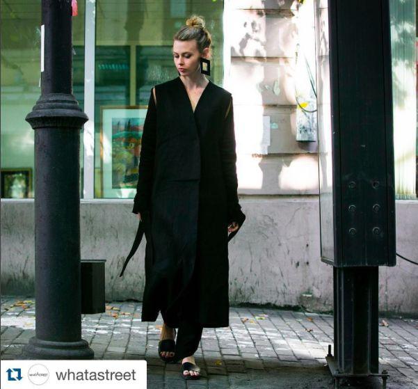 #Repost @whatastreet with @repostapp. ・・・ whatAclassy! Tbilisi fashionweek ss16 #whatAstreet #nataliecantell @nataliecantell wearing #MATÉRIEL by @aleksandreakhalkatsishvili #materiel #dress #accessories #slippers #detail #accessory #fashion #moda #streetstyle #tbilisi #fashionweek #georgia #ss16 #adrianocisani #materieltbilisi #GeorgianDesigners