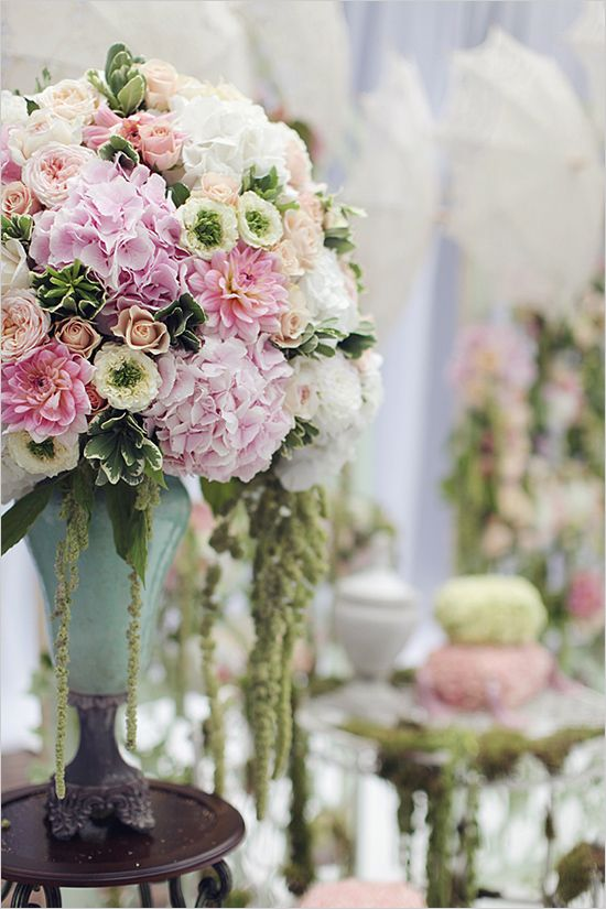 bruiloft bloemstukken