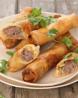 Fill the Pre-Meal whole with a yummy Boerewors Spring Roll. Checkers - Better and Better | Recipes #checkers #boerewors