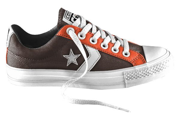 Brown Baby Converse Shoes