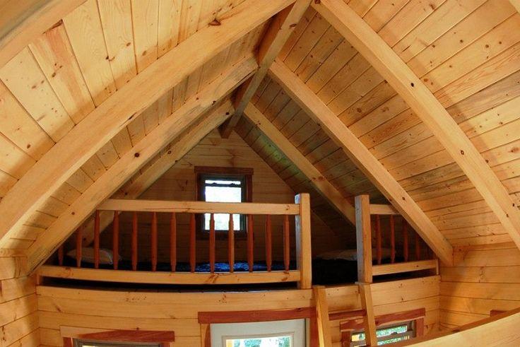 Canada build on site log cabin kit CampersTiny Homes
