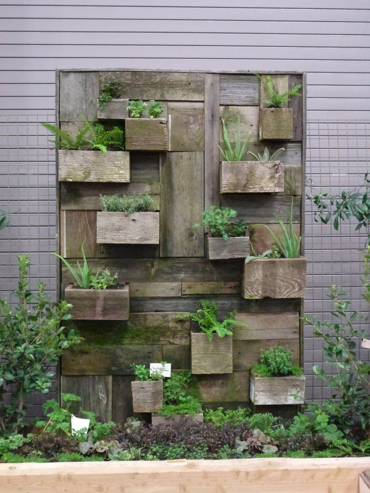 Love This Display From Portlandu0027s Yard, Garden And Patio Show.