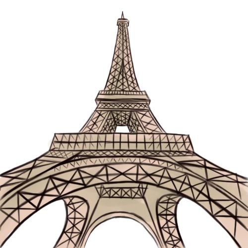 How to Draw the Eiffel Tower -- via wikiHow.com
