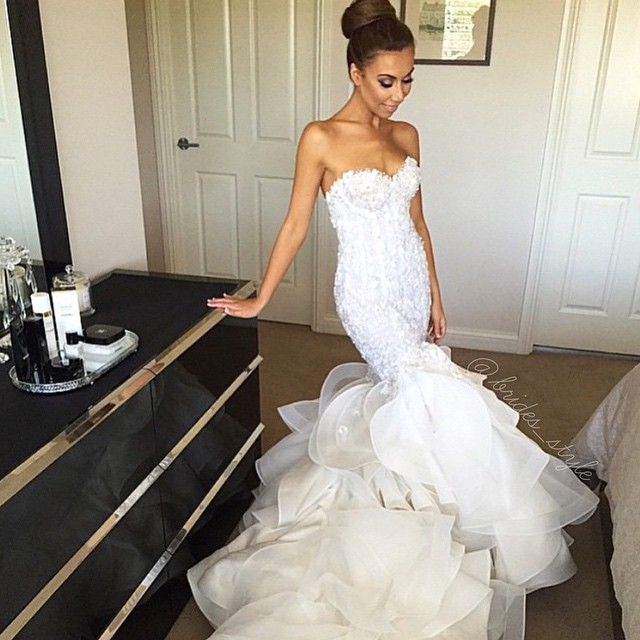 Steven khalil bridal style pinterest wedding dress for Steven khalil mermaid wedding dress