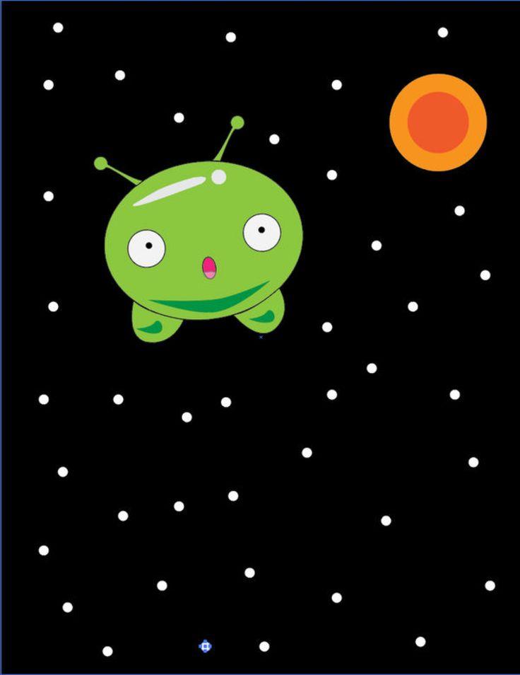 Mooncake In Space By Gamememer On Deviantart Cartoon Wallpaper Space Wallpaper