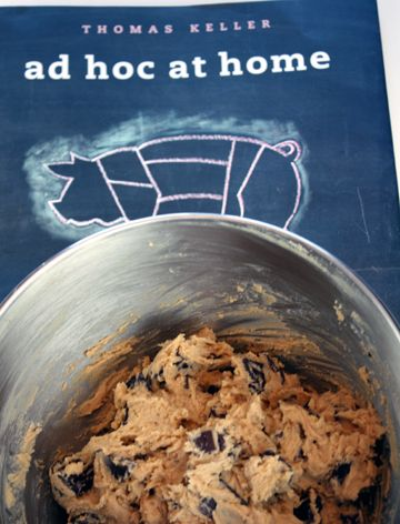 Chocolate Chip Cookie Recipe from Ad Hoc At Home (Chef Thomas Keller)