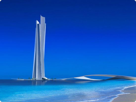 Wave Tower in Dubai