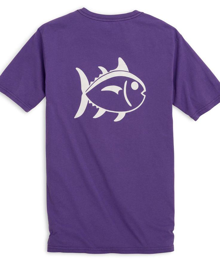 Southern Tide - University Outline Skipjack T-Shirt | Products ...