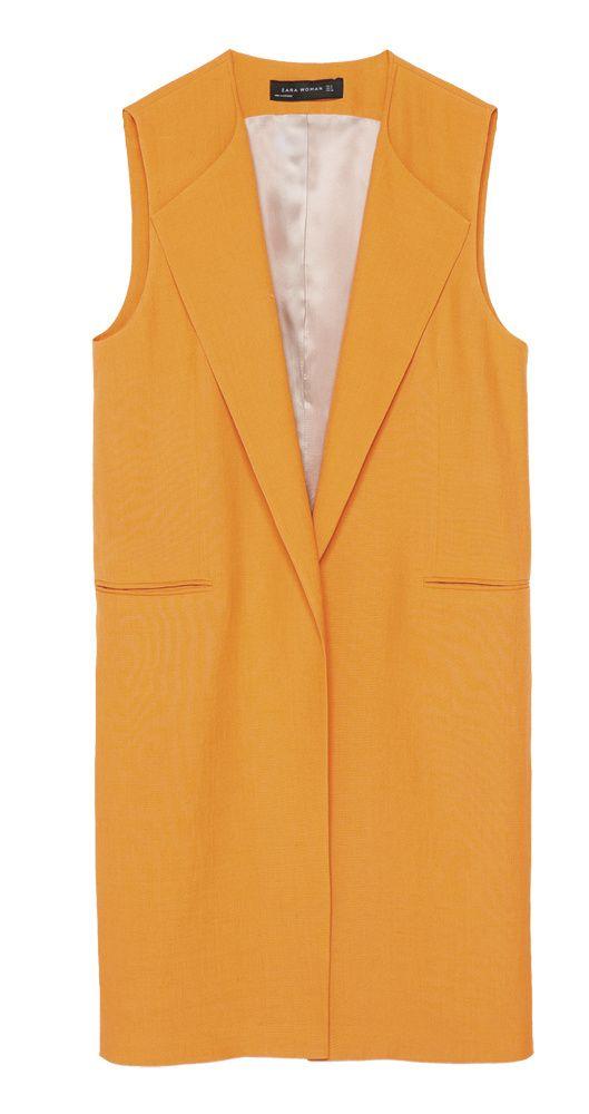 Con la misma dignidad que un saco, pero sin mangas, resulta muy versátil y combinable con tu ropa.