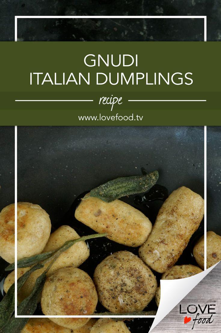 Gnudi – Italian dumplings