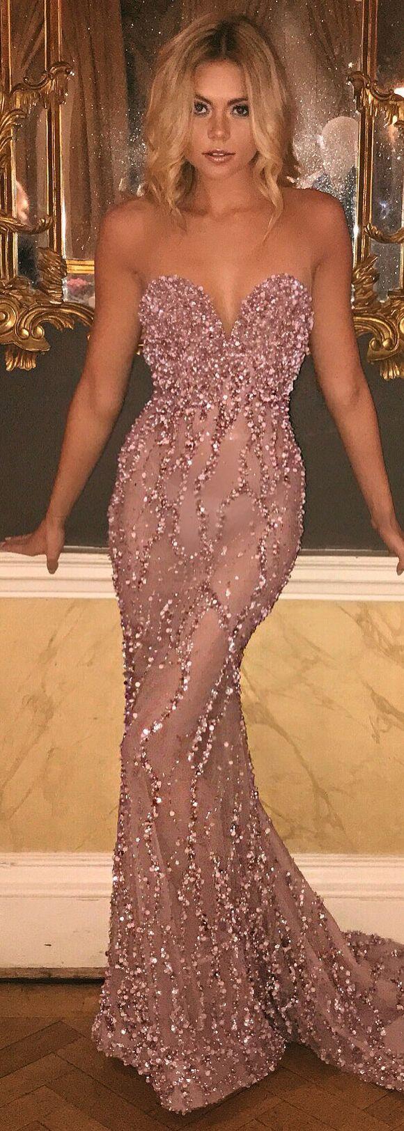 Gorgeous Evening Dress by BERTA |@bertabridal