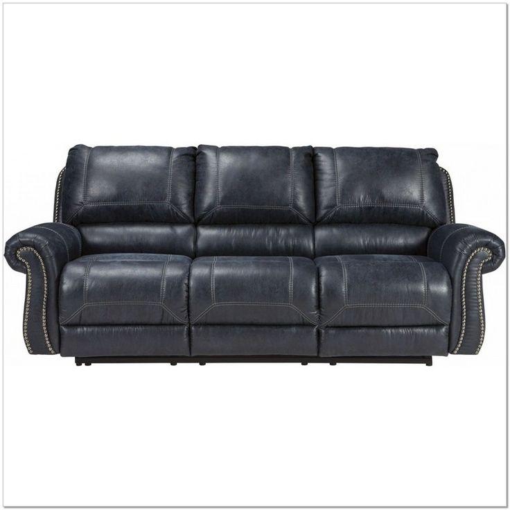 Best Beautiful Ashley Furniture Navy Blue Sofa Reclining 400 x 300