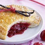 Chaussons aux cerises - une recette Dessert - Cuisine