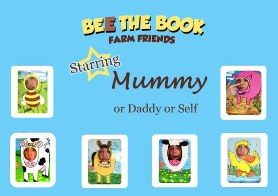Bee The Book : Farm Friends a totally original way of reading to children.