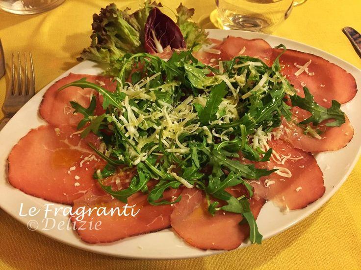 Carpaccio+di+bresaola+con+rucola+e+parmigiano