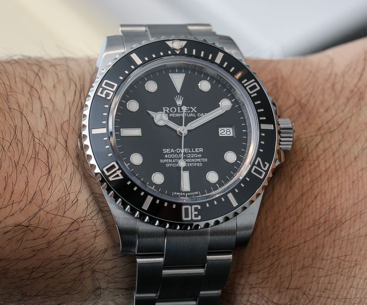 Rolex Sea Dweller 4000 Ref. 116600 Watch For 2014 Hands On   watch releases