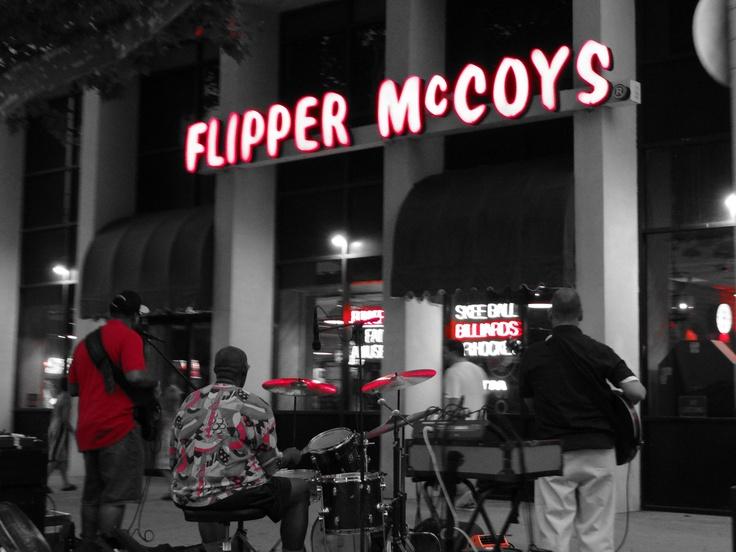 Live music on the boardwalk in Virginia Beach.