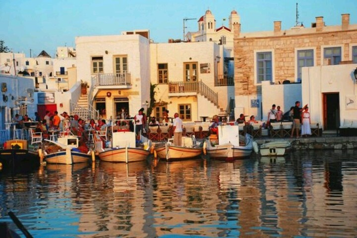 Naousa , Paros. LOVE the village of Naousa, so much charm.