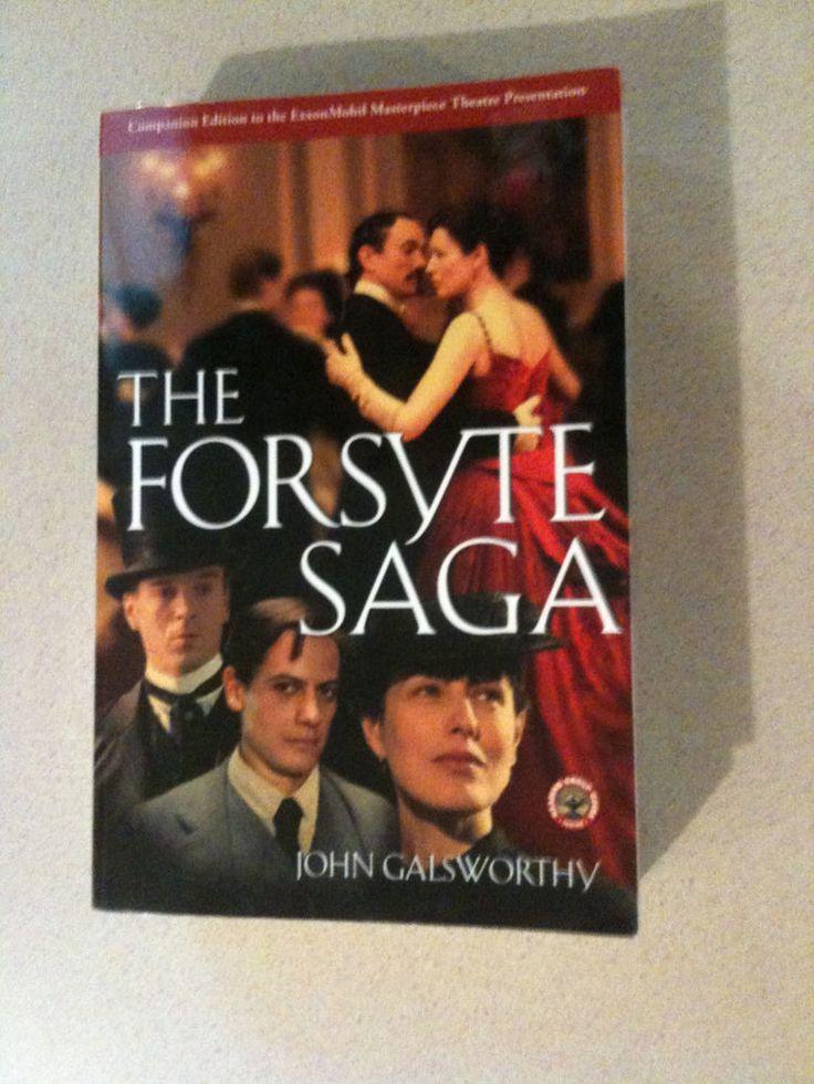 The Forsyte Saga by John Galsworthy - Paperback bind-up Forsyte Saga books 1-3