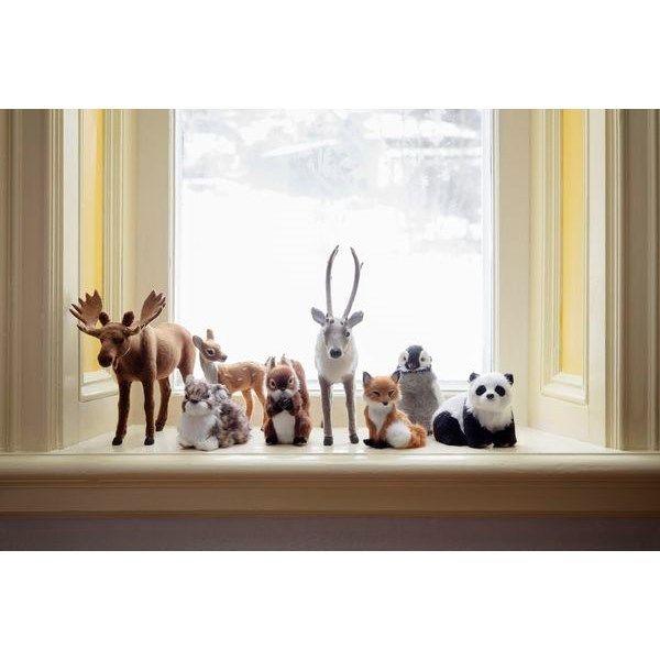 Dekorationsdjur 10-13,5 cm Ekorre, räv, rådjur Konstmaterial - Julprydnader - Rusta