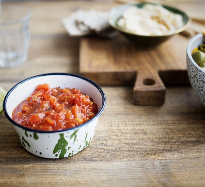 Zomerse salsa