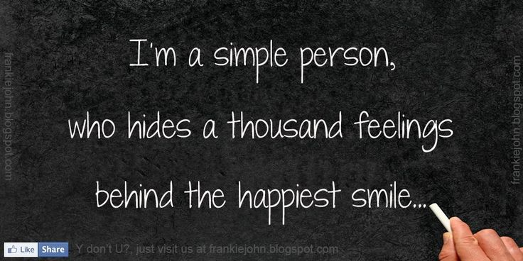 images of quotes about sadness | simple person, who hides ...