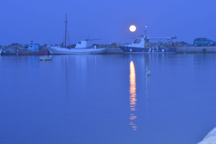 Skyros Island...full moon