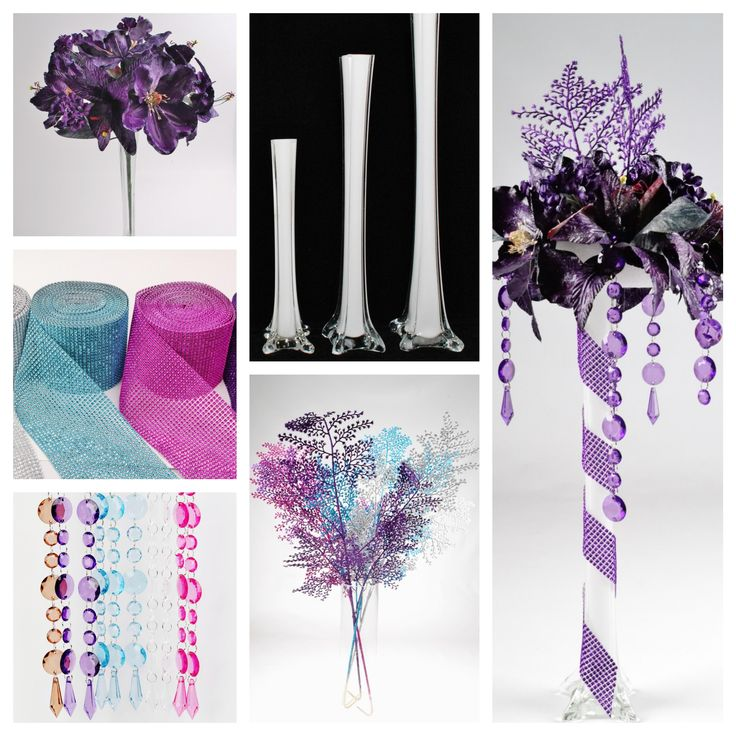 367 best centerpieces images on pinterest centerpieces for Do it yourself table decorations