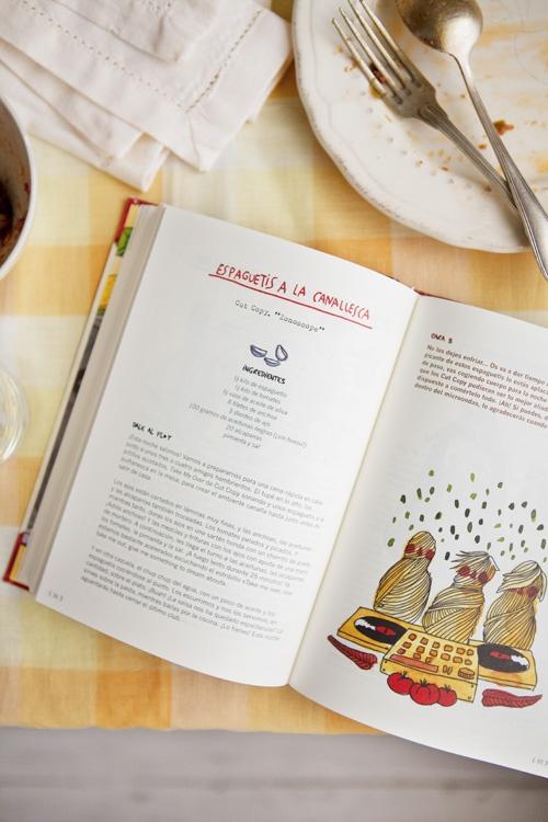 """""""Cocina Indie"""" y sus espaguetis a la canallesca"""