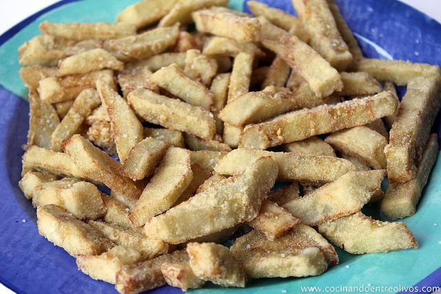 Berenjenas fritas crujientesOil, Cocinando Entres, That, Recipe, Entres Olivos, Frita Crujient, This Recipe, Berenjena Frita, Why