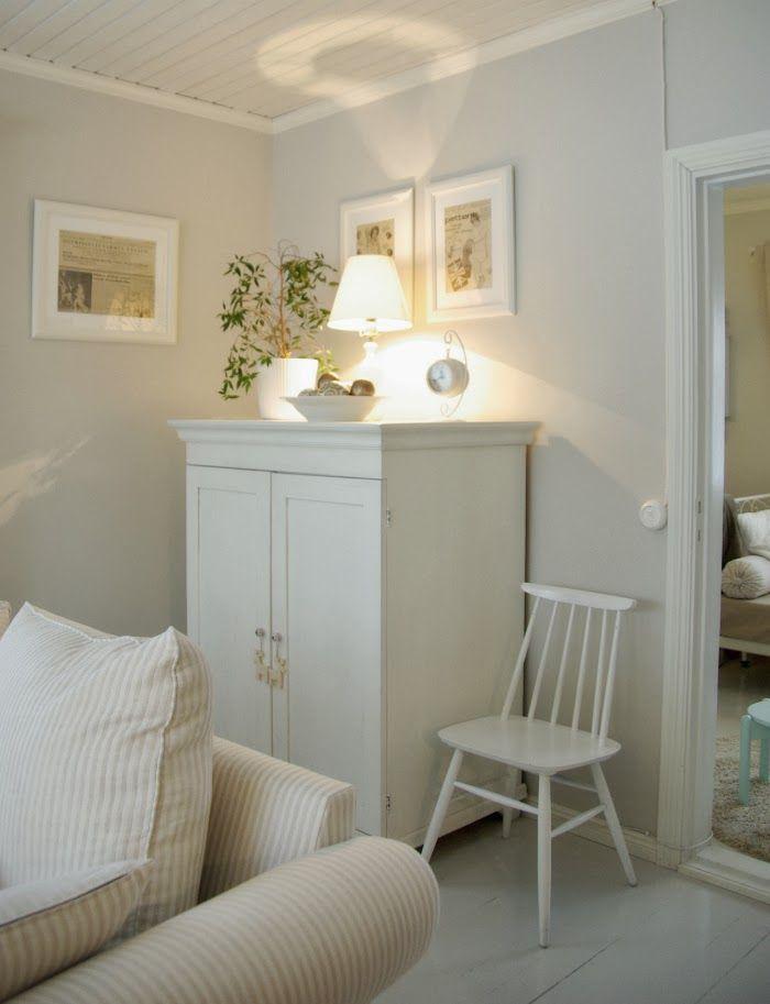 Tarja's Snowland  / old house / renovated / living room / scandinavian home / scandinavian house