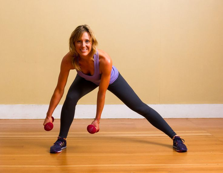 10 WAYS TO TONE THE INNER THIGHS. I'm going to buy hand weights tomorrow.