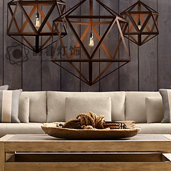 American style pendant light personalized wrought iron pendant light balcony art pendant light 8935-inPendant Lights from Lights & Lighting on Aliexpress.com